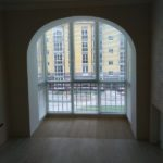 белые горизонтальные жалюзи для балкона Владикавказ улица Джикаева