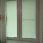 рулонные шторы салатовые в детской комнате