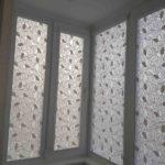 рулонные шторы светлая ткань владикавказ лоджия