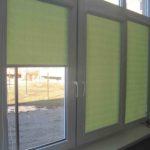 салатовые рулонные шторы