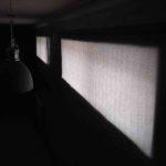 серая ткань Тэфи рулонных штор в Гизели