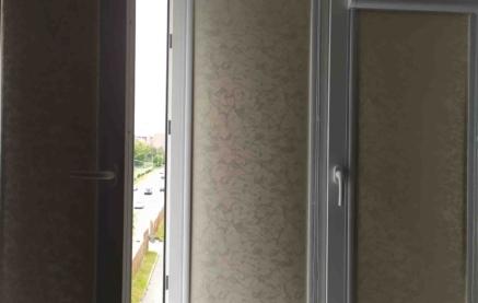 Эффект ткань black out для рулонных штор.